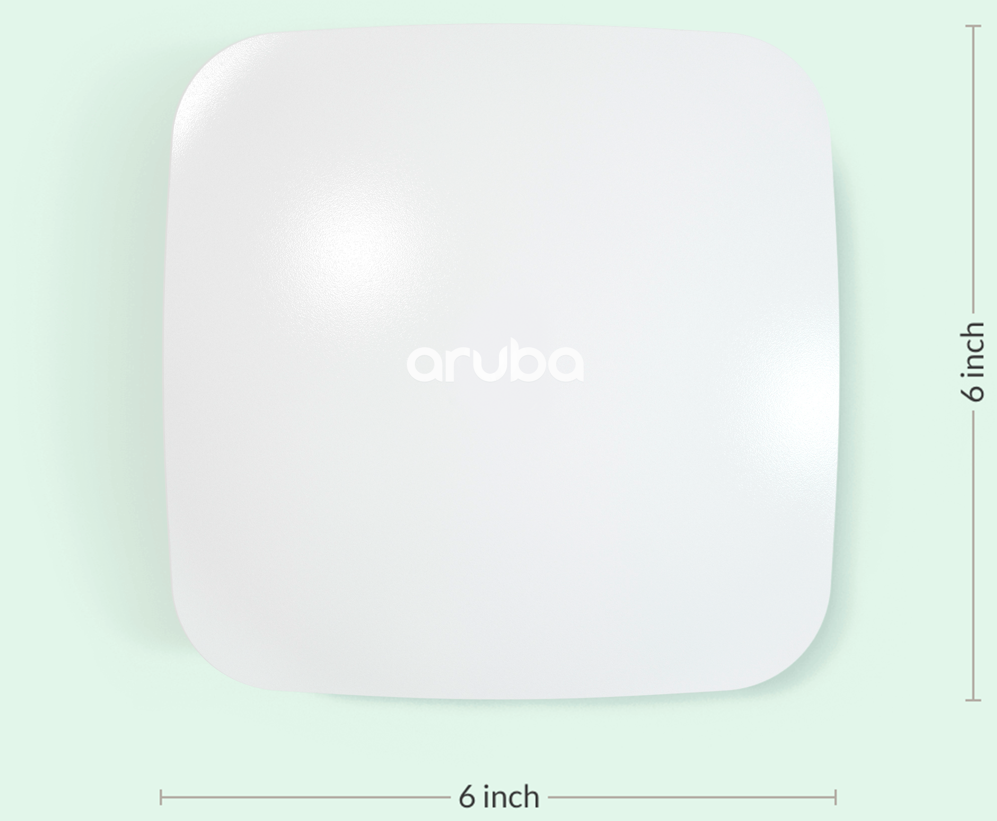 Aruba User Experience Insight Sensor - top view